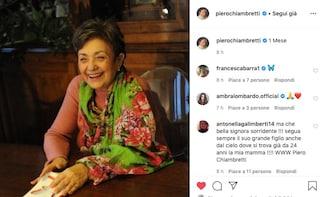 Piero Chiambretti ricorda la madre Felicita a un mese dalla morte per coronavirus