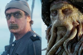Per Davy Jones in Pirati dei Caraibi 2, l'attore Bill Nighy ha recitato sempre in tuta e berretto
