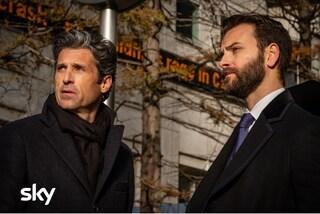 Arriva Diavoli, il thriller finanziario con Patrick Dempsey e Alessandro Borghi dal 17 aprile su Sky