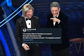 """Amadeus e Fiorello bis per Sanremo 2021, il tweet di Rosario: """"Mi ha chiamato già tre volte"""""""