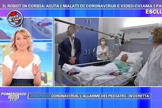 """Fuori programma in diretta dalla D'Urso, il paziente in collegamento: """"Se parlo, mi arrestano"""""""