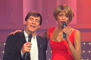 "Gianni Morandi: ""Quella volta che litigai con Whitney Houston, le dissi che non era professionale"""