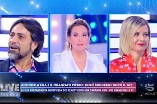 """Salta la proposta di matrimonio in tv ad Antonella Elia, il fidanzato Pietro: """"La prossima puntata"""""""