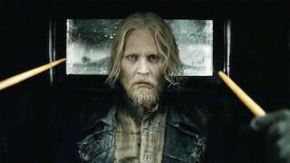Animali Fantastici 2, Johnny Depp spiega perché Grindelwald ha uno strano occhio bianco