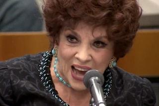 Un giorno in pretura riparte dalle nozze di Gina Lollobrigida, in tv i video del processo
