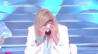"""Mara Venier in lacrime alla vista del nipotino Claudio: """"I nonni di Italia mi possono capire"""""""