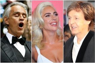 One World: Together at Home, come vedere in tv il concerto con Lady Gaga e Bocelli