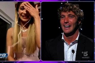 """GF Vip, Paolo Ciavarro parla con Clizia Incorvaia nonostante la squalifica di lei: """"Mi manchi"""""""