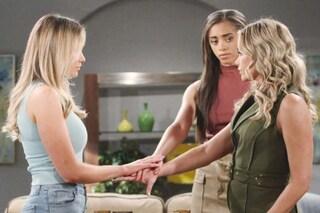 Beautiful, anticipazioni 4 - 9 maggio: Flo, Shauna e Zoe promettono di non rivelare che Beth è viva