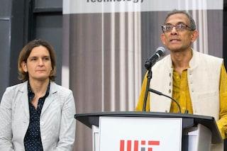 Che tempo che fa, Fabio Fazio ospita i premi Nobel per l'Economia Esther Duflo e Abhijit Banerjee