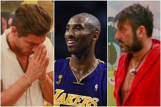 GFVip: Sossio Aruta infrange il regolamento e svela la morte di Kobe Bryant, Andrea Denver sconvolto