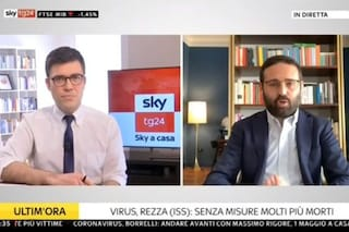 """Su Sky Tg24 nasce il primo telegiornale condotto da casa: """"Così diamo il buon esempio"""""""