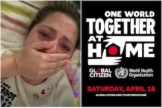 "One World - Together at home, c'è una dottoressa italiana: ""Non dimenticate chi lavora per voi"""