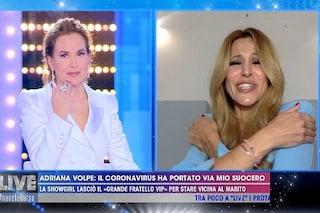 """Adriana Volpe: """"Uscita dal GF Vip non potevo abbracciare mia figlia Gisele"""""""