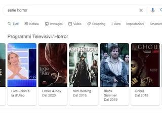 Perché Google vi consiglia Live - Non è la D'Urso se cercate una serie horror