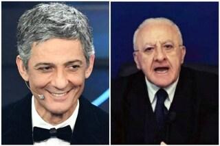 """Fiorello acclama Vincenzo De Luca su Twitter: """"Credo di amarlo, c'è del Fratacchionismo"""""""