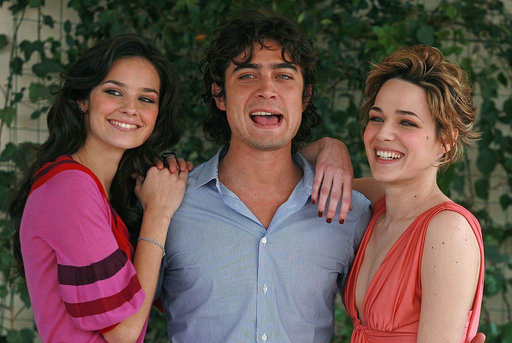 Katy Saunders con Scamarcio e Laura Chiatti