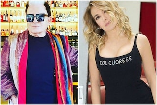 """Gli auguri in diretta tv di Malgioglio a Barbara D'Urso: """"Abbiamo litigato, ma non potevo mancare"""""""