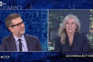"""""""Ho la giacca"""": Giovanna Botteri e la nuova frecciatina a Striscia la Notizia, che attacca Fazio"""