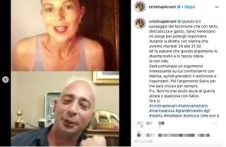 """""""A 50 anni non ti sei fatta ancora una famiglia"""", Cristina risponde duramente a Salvo del GF1"""