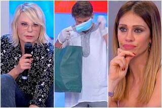 Enzo Capo chiude con Pamela Barretta lasciando i suoi vestiti a Gianni, la reazione della De Filippi