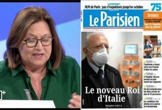 """""""De Luca nuovo re d'Italia"""", Lucia Annunziata abbocca alla finta prima pagina del Le Parisien"""