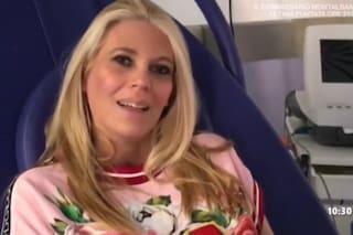 """Il video di Eleonora Daniele dall'ospedale: """"Sono emozionata, grazie alla Rai per avermi protetta"""""""