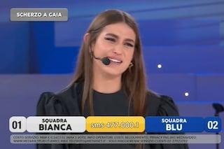 """Accusano Gaia Gozzi di plagio, avrebbe copiato """"Chega"""": lei piange ma è uno scherzo"""