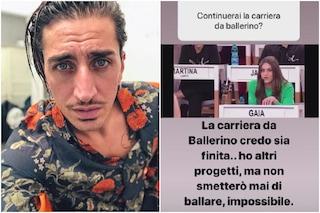 """Marcello Sacchetta: """"Non sarò ad Amici Speciali. La mia carriera di ballerino è finita"""""""