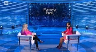 Con Pamela Prati il pubblico scappa da Domenica In, flop d'ascolti per l'intervista