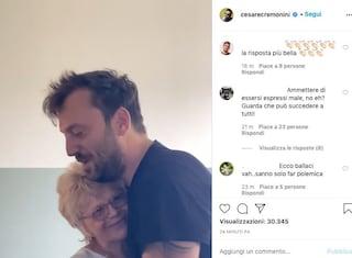 """Cesare Cremonini risponde alla polemica con un video, Emilia: """"Non vi preoccupate noi ci amiamo"""""""