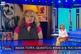 """La mamma di Nadia Toffa: """"Prima di morire capì che la sorella era incinta, poi è nata Alba Nadia"""""""