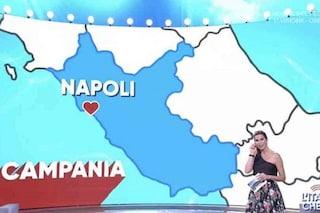 Napoli spostata nel Lazio, la clamorosa gaffe a L'Italia che fa di Veronica Maya