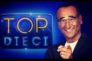 Top Dieci parte bene, Carlo Conti sfiora i 4 milioni di spettatori e doppia Live - Non è la D'Urso