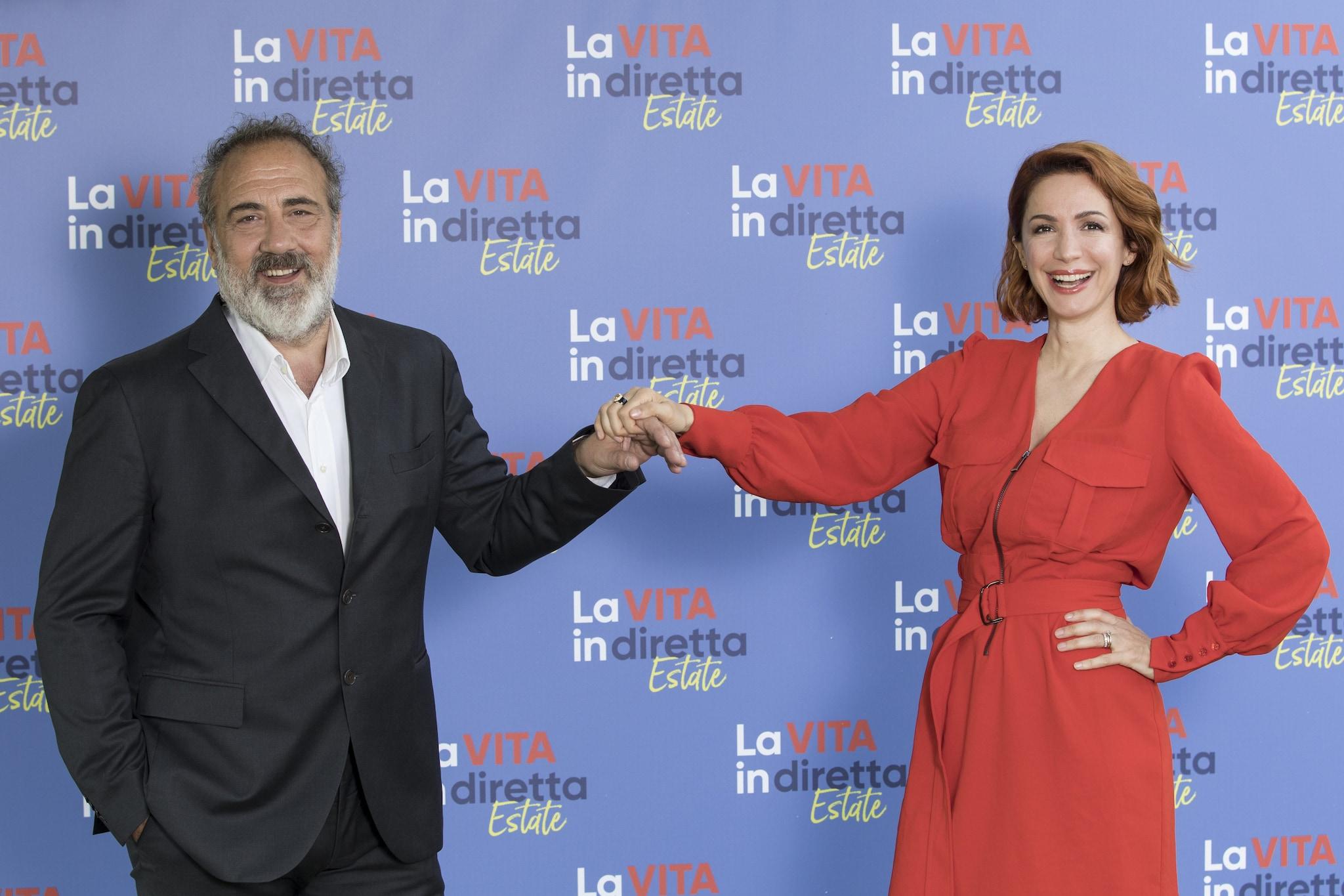 Marcello Masi e Andrea Delogu