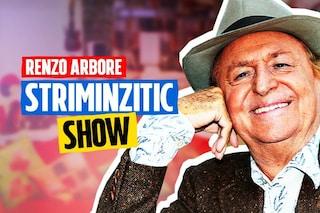 """Striminzitic Show, Renzo Arbore ritorna in Tv: """"Sono sempre stato l'alternativa e continuo così"""""""