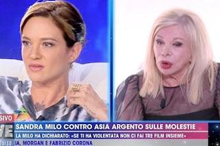 """Asia Argento contro Sandra Milo: """"Questa è partita, ha problemi di udito"""""""