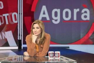 """Serena Bortone lascia commossa Agorà: """"Ci ritroveremo"""". A settembre passerà al pomeriggio di Rai1"""