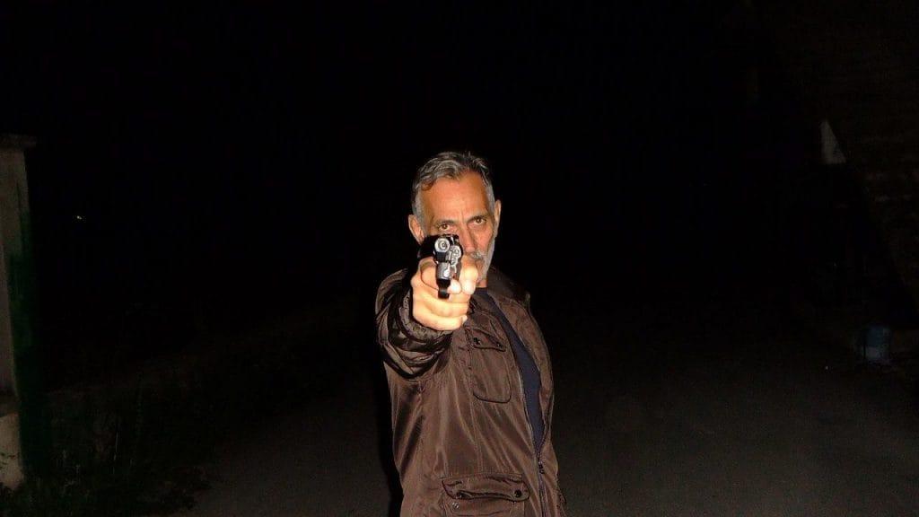 Rodolfo Craia in una scena di Amore Criminale
