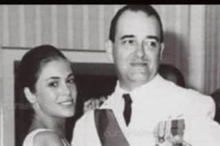 """Rita Dalla Chiesa e la Festa dell'Arma con una foto insieme al papà: """"Il mio carabiniere preferito"""""""