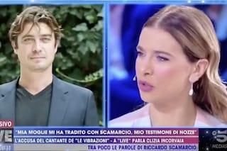 """La grammatica choc di Clizia Incorvaia dalla D'Urso: """"Ci presimo un panino e ci misimo in macchina"""""""