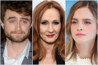 Tweet di J. K. Rowling sulle donne trans: si dissociano Emma Watson, Eddie Redmayne e Radcliffe