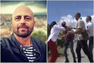 """Aggressione a troupe Striscia la notizia, Luca Abete: """"Picchiato, preso a calci, pugni e schiaffi"""""""