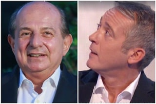 """Giancarlo Magalli a Pierluigi Diaco: """"Non riuscirai a farmi piangere poi se non piango io lo fai te"""""""