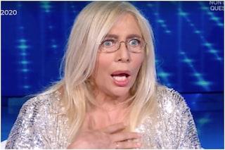 """A Domenica In rumori dietro le quinte, Venier e Carlucci: """"Che succede? Aiuto, che spavento"""""""
