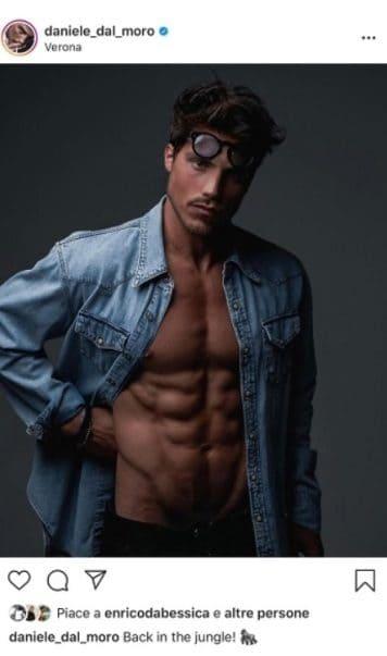 Daniele Dal Moro è tornato su Instagram