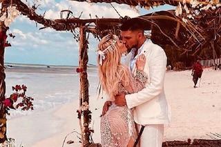Elena Morali sposa Luigi Favoloso a Zanzibar, ma spuntano foto e chat con l'ex Daniele Di Lorenzo