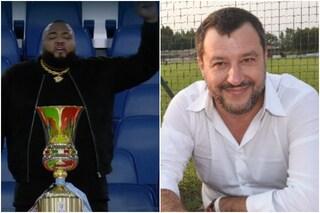 """Sylvestre a Salvini: """"Si informi sul significato del pugno chiuso e su cosa vuol dire essere nero"""""""