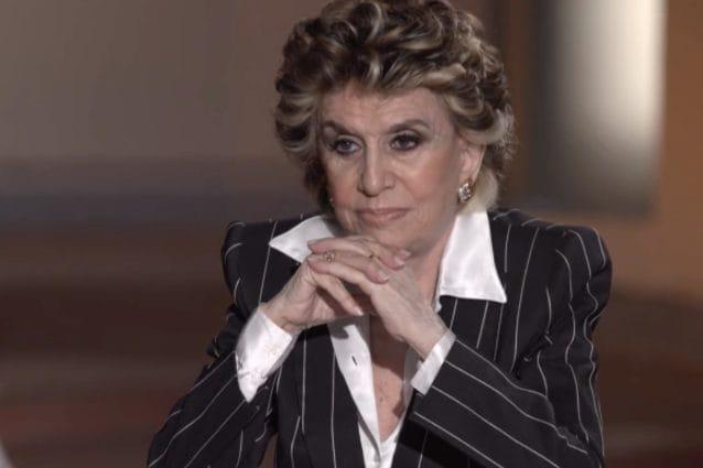 Franca Leosini nella puntata di Storie Maledette del 14 giugno