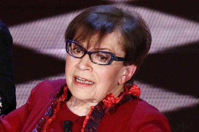 Franca Valeri (LaPresse)